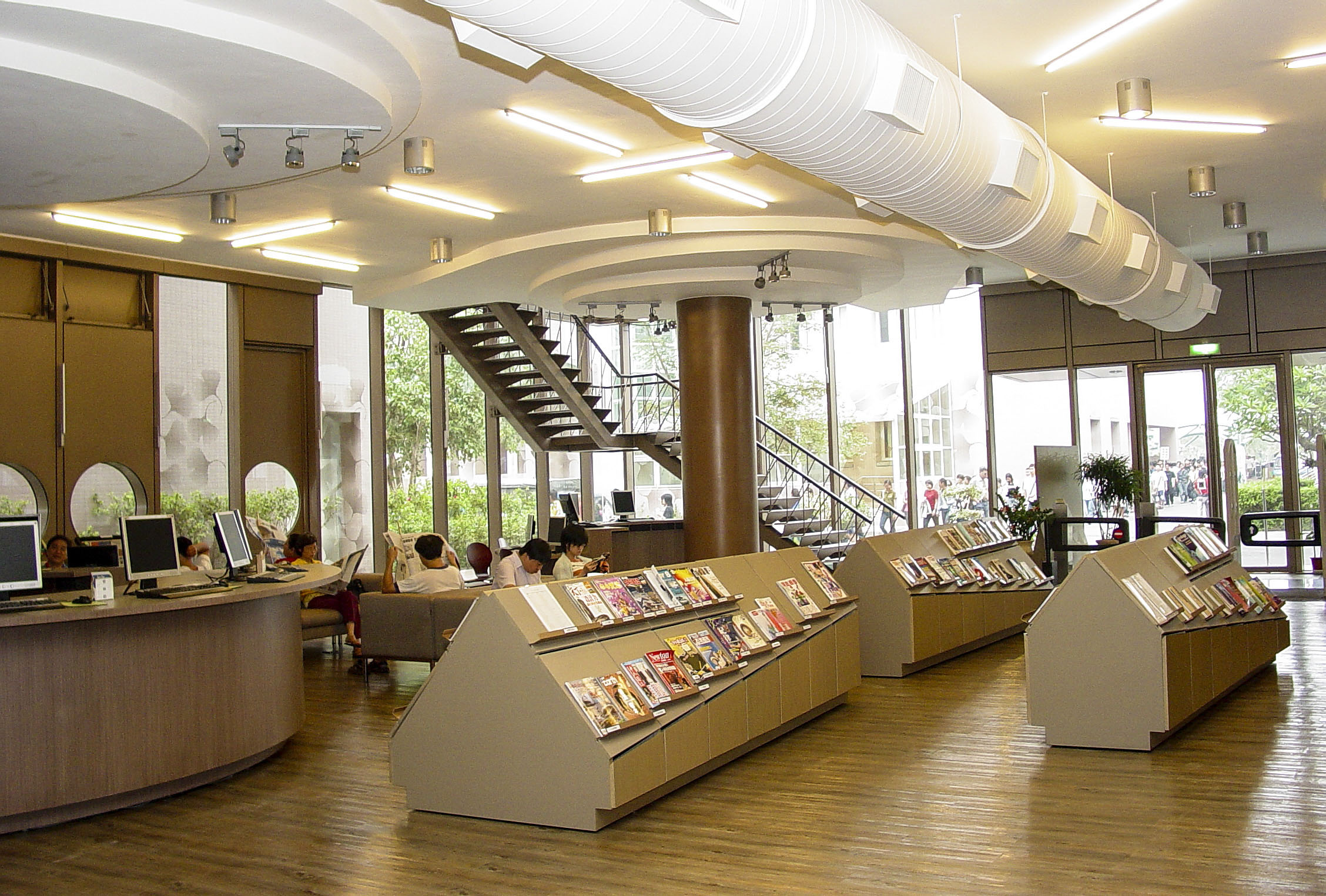 圖書館大廳
